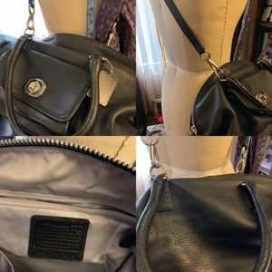 Coach Leather Crossbody Handbag